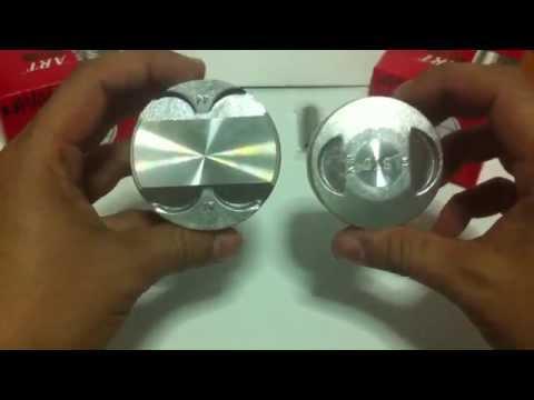 รีวิว ลูกCBR กับ ลูกSONIC HONDA CBR VS SONIC piston