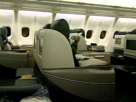 Turkish Airlines A330-300 : Business Class Cabin - New Interior (CGK-SIN)
