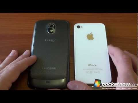 Samsung Galaxy Nexus vs. iPhone 4S Music Videos