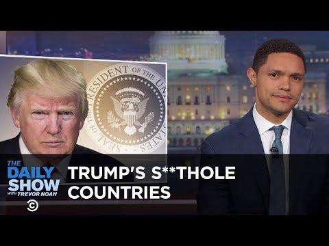 Cover Lagu Trump Calls Non-White Countries