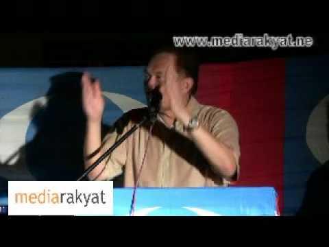 Sarawak Election 2011: Anwar Ibrahim, Miri 08/04/11 (Part 2/3)