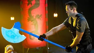 Sub-Zero's Ice Axe   The Science of Mortal Kombat
