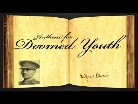 anthem for doomed youth poem essay