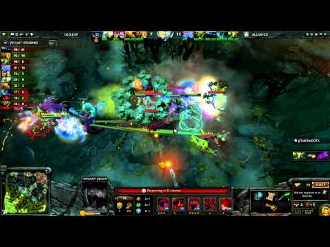 Day 1 Show Open - The International 2013 - Russian Commentary