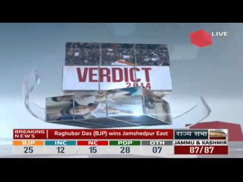 Jharkhand and Jammu & Kashmir Assembly Election Results 2014 - Loktantra | Verdict (17:00 - 17:30)
