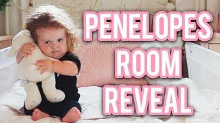 Penelope's Room Reveal!  Room Tour - Vlog 106