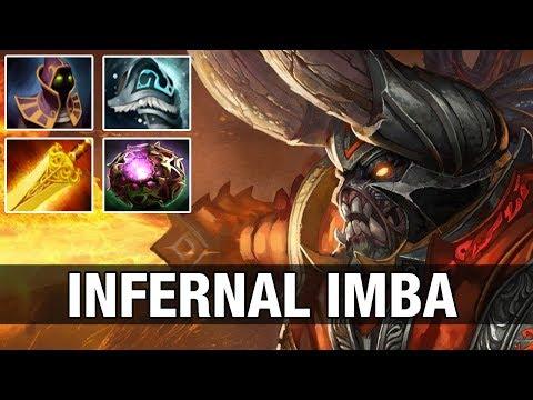INFERNAL IMBA - ACE 8K MMR Plays Doom with Radiance - Dota 2
