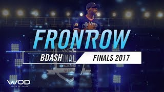 BDash | FrontRow | World of Dance Finals 2017 | #WODFINALS17