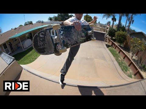 Brad McClain Ventura Backyard Miniramp