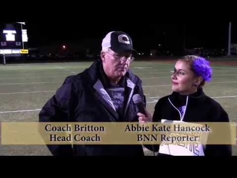 Cullman vs. Athens Football - Post Game Interview