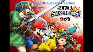 smash bros with freinds