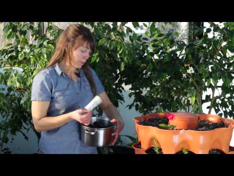 Composting with the Garden Tower 2 by Garden Tower Project