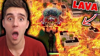 THE FLOOR IS LAVA CHALLENGE! - Fortnite Battle Royale