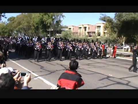 Saratoga High School Marching Band @ Cupertino Tournament of Bands 2012.wmv
