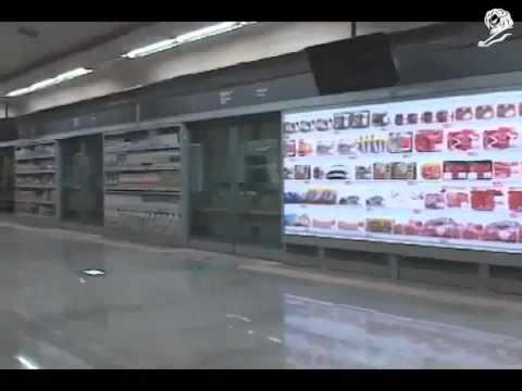 Tesco Homeplus, Tienda Virtual de metro en el sur de Korea