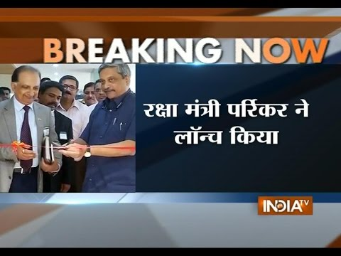 Defence minister Manohar Parrikar launches Scorpene submarine today