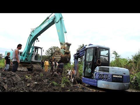 Mini Excavator Heavy Recovery Kobelco SK200