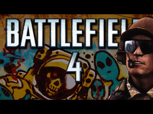 Battlefield 4 Funny Moments - Operation Container, Tank Train, Rage Quitter! (Funtage!)