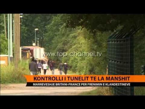 Kontrolli i tunelit të La Manshit  - Top Channel Albania - News - Lajme