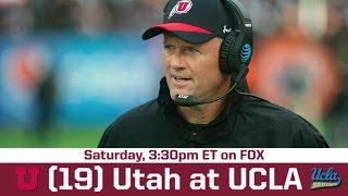 UCLA vs Utah Game Preview| BREAKING THE HUDDLE WITH JOEL KLATT