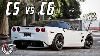 C5 vs. C6 Corvette review/analysis - which is better?