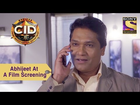 Your Favorite Character | Abhijeet & Team Attend A Film Screening | CID thumbnail