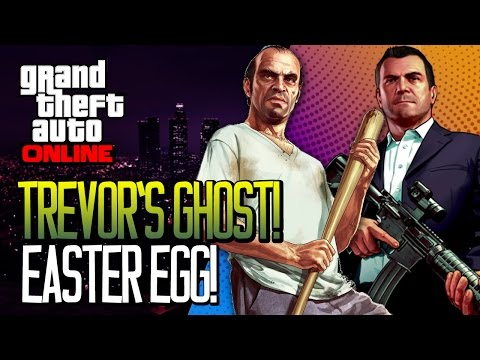 Gta 5: How To Find trevor Phillips' Ghost Gta V Easter Egg Michael's Ghost In Gta Online video