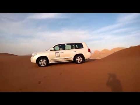 Desert Safari - Dubai Tourism & Travel Services(DTTS) Landcruiser-2015
