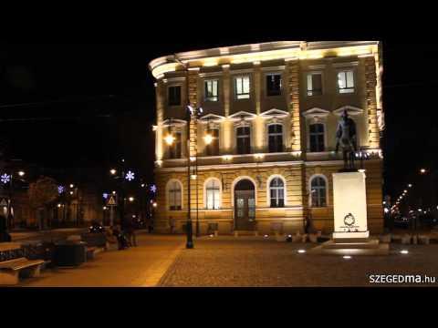 Karácsonyi fények Szegeden