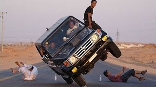 Epic 2 Wheel Car Stunts - Funny Stunts, Crazy Stunts Gone Wrong