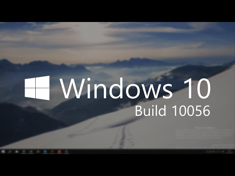 Windows 10 Build 10056 - Updated UI, Weather + MORE