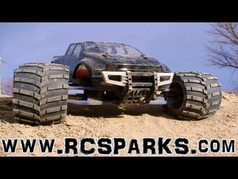 RC ADVENTURES - NITRO RC TRUCKS  # 2 - FORD F-650 MGT 8.0 - SPEED, JUMPS, TRIALS & TRIBULATIONS