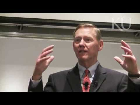 Ford CEO Alan Mulally Lecture at the University of Kansas