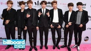 BTS Release News Songs to Celebrate 4-Year Anniversary | Billboard News