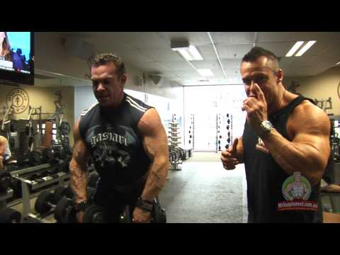 Rich Gaspari - Dumbbell Upright Rows Image 1