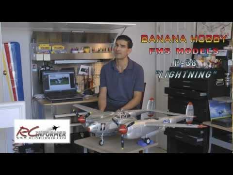 Banana Hobby P-38