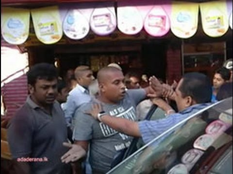 Man threatens journalist after Mangalagama accident