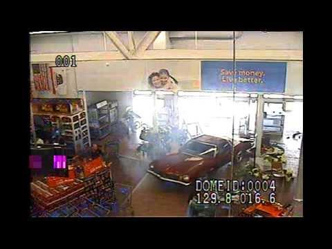 13-090-0362 Car drives into Walmart