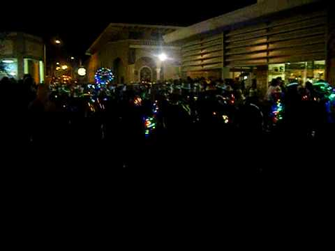 gadsden school district marching band at light 39 s parade in