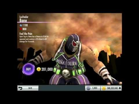 Luchador Bane Upcoming Challenge Character Review   Injustice iOS