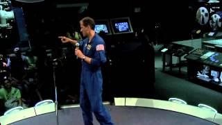 Astronaut Thomas Marshburn