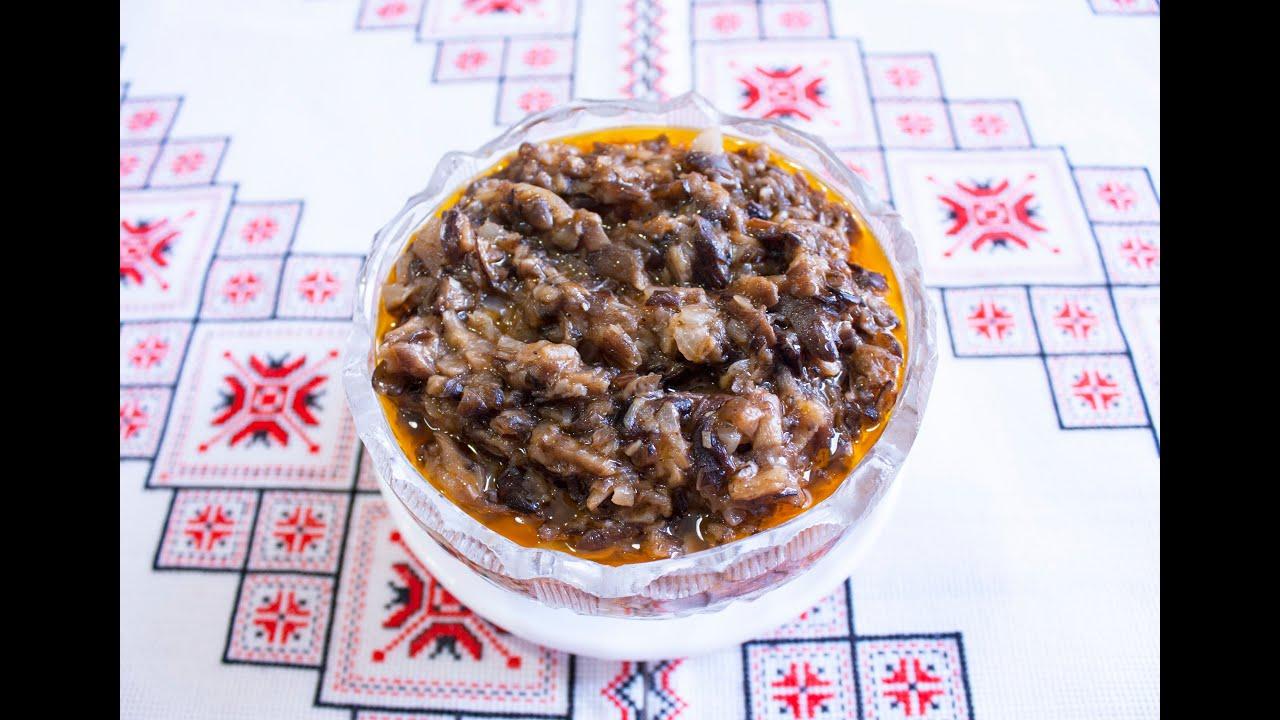Икра из грибов опята на зиму рецепты