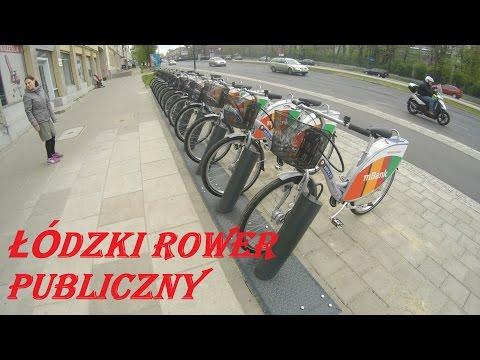 Łódzki Rower Publiczny - Zobaczcie Jakie To łatwe :)