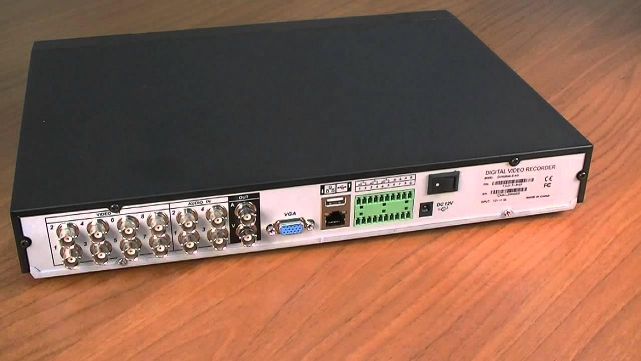 Обзор: видеорегистратор DH-DVR0804LE-AS (Dahua)