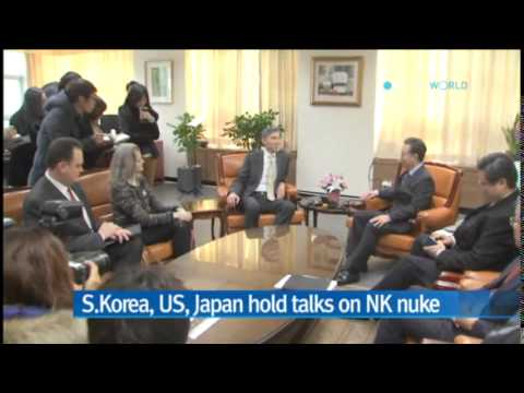 S.Korea, US, Japan hold top nuke envoys' meeting in Tokyo / YTN