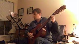 Auld Lang Syne, Happy New Year 2018 on a Giannini AWNM4 classical guitar