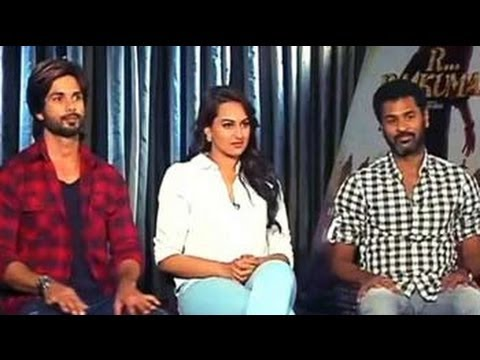 I Love Working With Sonakshi: Prabhu Deva video