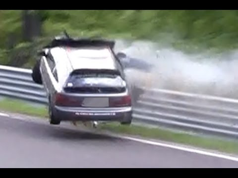 Nordschleife 2013 Big Crash & Fail Compilation Nürburgring Touristenfahrten VLN 24H
