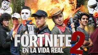FORTNITE EN LA VIDA REAL 2! - FORTNITE 2 LA SERIE - Changovisión - Fortnite (La película, Parodia)