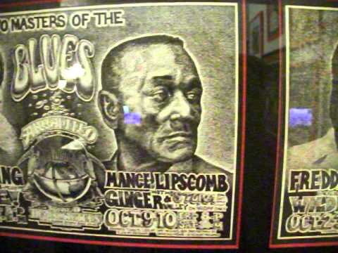 Freddie King, Mance Lipscomb Armadillo World Headquarters Poster and Two Handbills Set